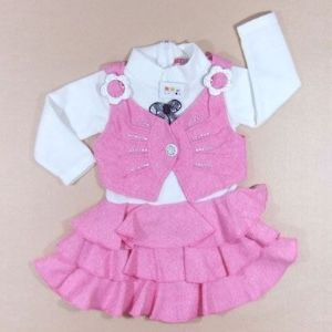 Girl dress, 1-1.5 years, [CL722b]